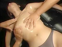 Exotic Japanese chick in Hottest Massage JAV scene