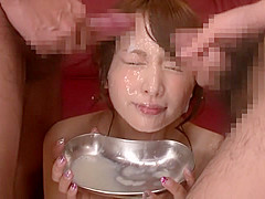 Amazing Japanese chick in Best Bukkake, Cunnilingus JAV clip