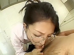 Amazing Japanese whore in Horny POV, Blowjob JAV video