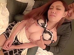 Amazing Japanese chick in Exotic Blowjob, MILF JAV movie
