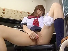 Fabulous Japanese model in Horny Teens JAV movie