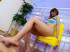 Exotic Japanese girl in Crazy Fetish, Femdom JAV scene