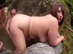 Horny Japanese whore in Crazy BBW JAV clip pretty one
