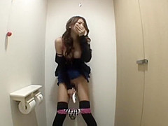 Sana Masturbation in the toilet