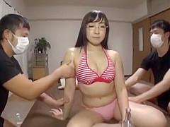 New Japanese girl in Newest JAV scene pretty one