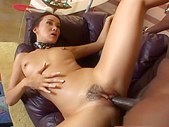 Katsuni gets fucked hard in her ass by black man