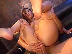 Nyomi Zen sucks and fucks sexy stranger