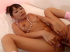 Kinky Hina chan sucking and fucking!