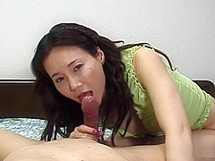 Sexy Arisa Matsumoto handjob and blowjob
