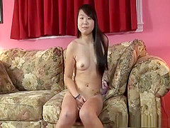 Watch this shy Chinese get naked for the firs time
