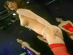 japanese sexy girls naked dance and strip