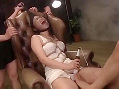 Pantyhose face girl gets spat in mouth and pissed on
