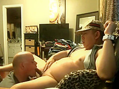POPPERS PISS FEEDING, BALLS LICKING, ASS EATING AND CUM FEEDING AT THE END
