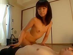 japanese femdom spitting, facelicking, pissing