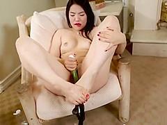 Nari Park Asain Foot Fetish Pussy Play XHAM2
