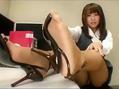 japanischen porno rohre in nylon