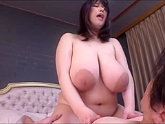 Busty Amateur hard fucking in the Bed