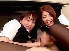 japanese lady scissor