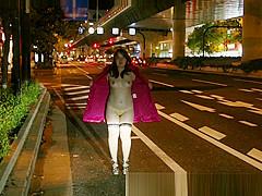 Japanese chubby girl public flashing slide show4