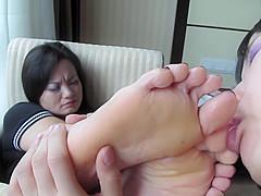 mature asian foot worship 2