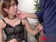 Shy Young Squirting Japanese Maid