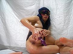 Swimsuit Masturbation