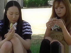 Awesome voyeur footage of Japanese beauties