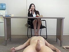 siren thorn footjob with cumshot all over toes