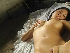 Sora Aoi Asian Model Is Showing Off Her Excellent Body In A Wedding Dress