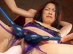 Kyoka Ishiguro Hot Asian Babe In Lingerie Gets Dildo Fucked