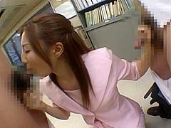 Senna Kurosaki Hot Asian secretary gets bukkake