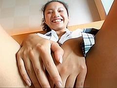 Hot Japanese AV Model Is Into Masturbation And Hard Fucking
