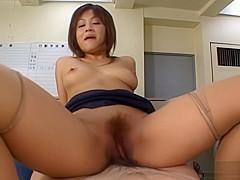 Yuka Matsushita Naughty Asian sexretary has office sex