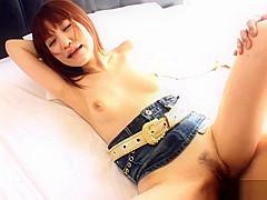 Misuzu Imai Asian babe gets a creamed pussy