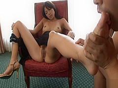 Rena Kousaki Cute Asian babe gets creampied