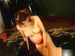 Bound pregnant fetish asian candlewax
