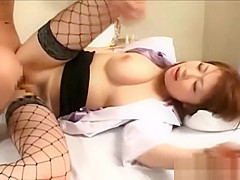 Fucking asian japanese nurse