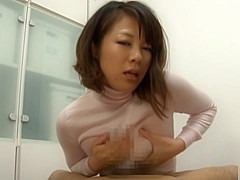 Yuna Harumas Oiled Up Boobs In A Shirt Are Good For A Tit Fuck
