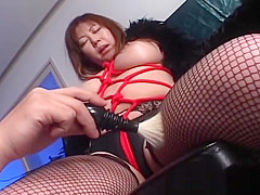 Japanese Momoko looking hot in stockings part4