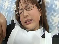Yui Shirasagi Japanese model gets part1