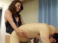 Dominant japanase escort girl