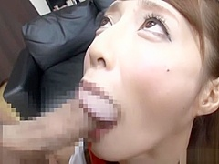 Hardcore queen Fuyutsuki Kaede knows how to fuck