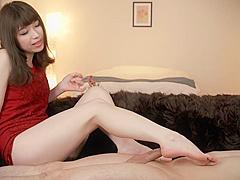 japanesegirl footjob cum feet