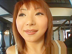 Sexy japanese redhead masturbating video part5