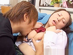 Horny school girl Hinayo Motoki juicy part3