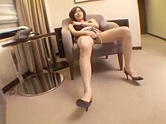 Japanese beauty fucked hard in hotel