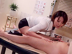 Amateur in Erotic Handjob Massage II part 2.4