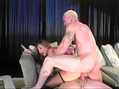 Sexy Keeani Lei Gets Double Downed And Fucked Deep