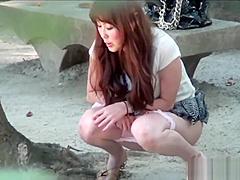 Heeled japanese pee park