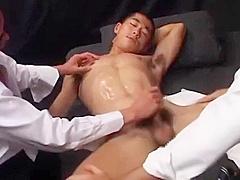 japanese boy threesome